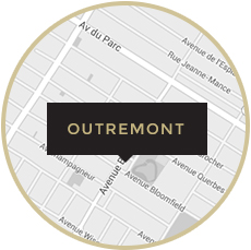 Carte Outremont